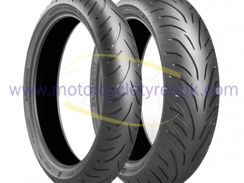 Bridgestone T31 Pair with MCTUK Logo
